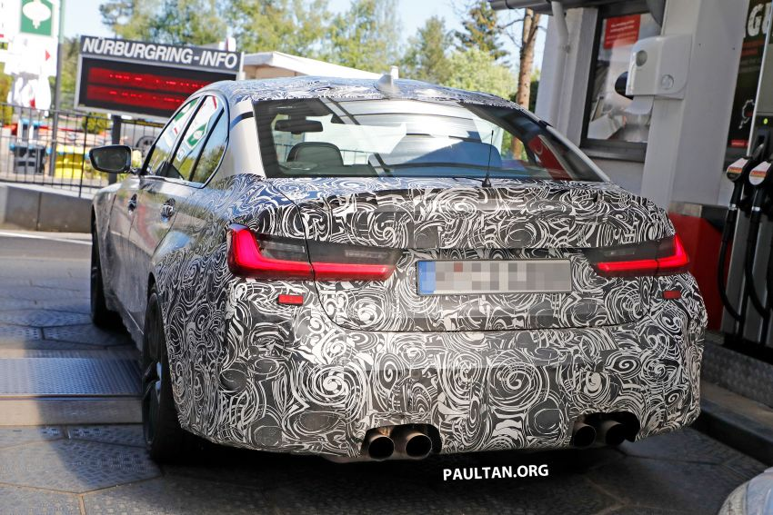 SPYSHOT: G80 BMW M3 interior seen for the first time! Image #969919