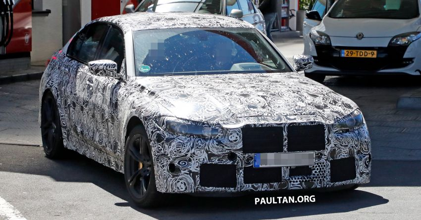 SPYSHOT: G80 BMW M3 interior seen for the first time! Image #969920