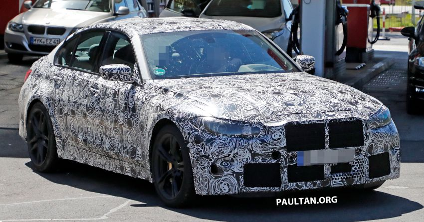 SPYSHOT: G80 BMW M3 interior seen for the first time! Image #969921