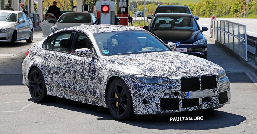 SPYSHOT: G80 BMW M3 interior seen for the first time! Image #969923