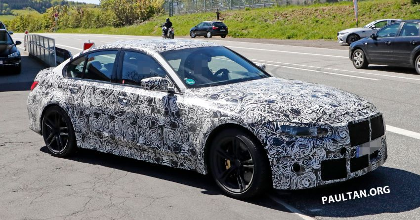 SPYSHOT: G80 BMW M3 interior seen for the first time! Image #969924