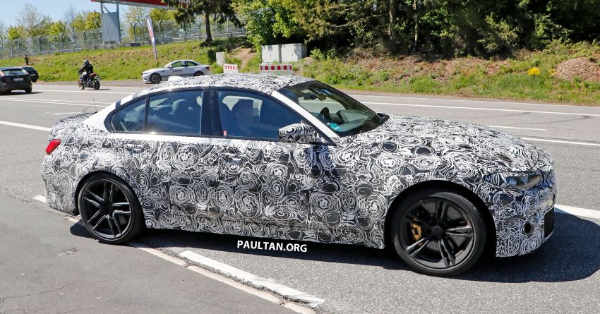 SPYSHOT: G80 BMW M3 interior seen for the first time! Image #969925