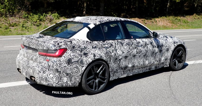 SPYSHOT: G80 BMW M3 interior seen for the first time! Image #969927