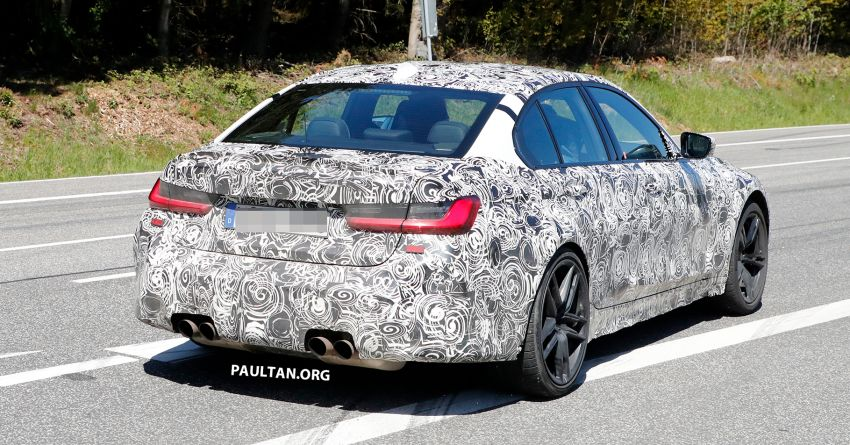 SPYSHOT: G80 BMW M3 interior seen for the first time! Image #969928