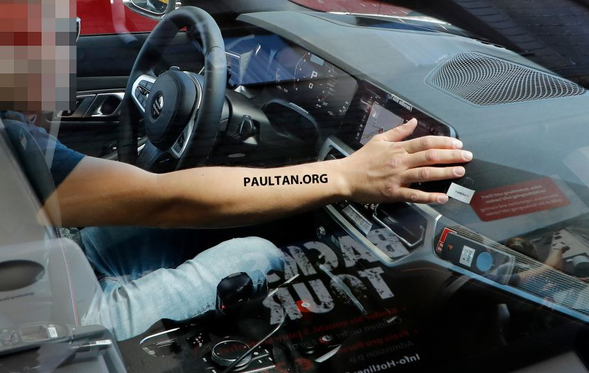 SPYSHOT: G80 BMW M3 interior seen for the first time! Image #969908