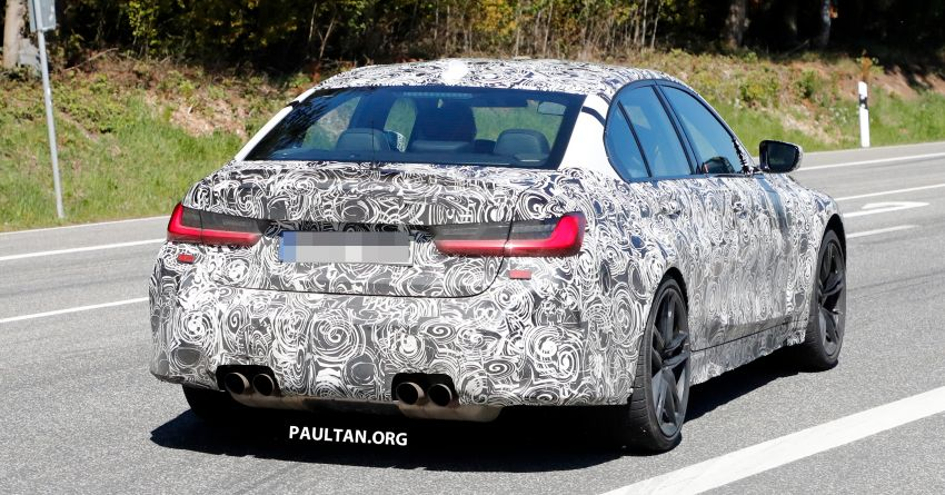 SPYSHOT: G80 BMW M3 interior seen for the first time! Image #969930
