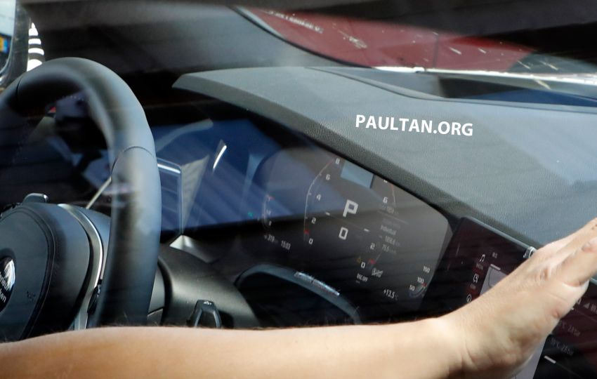 SPYSHOT: G80 BMW M3 interior seen for the first time! Image #969910