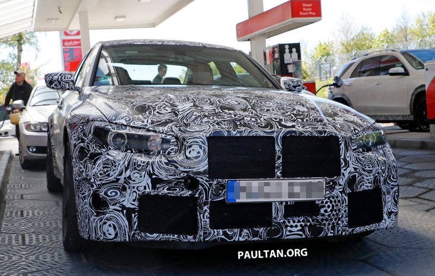 SPYSHOT: G80 BMW M3 interior seen for the first time! Image #969912