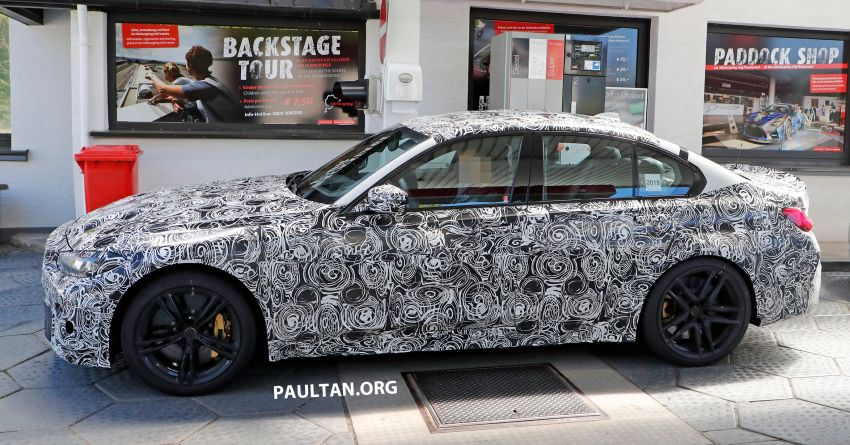 SPYSHOT: G80 BMW M3 interior seen for the first time! Image #969916