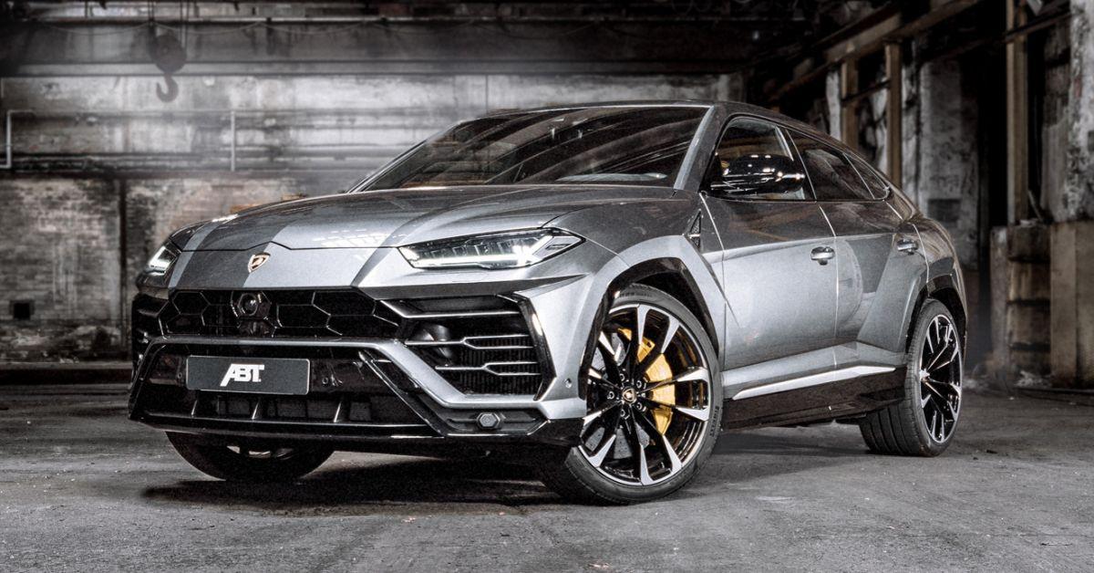 Lamborghini Urus gets ABT magic , 710 hp, 910 Nm!