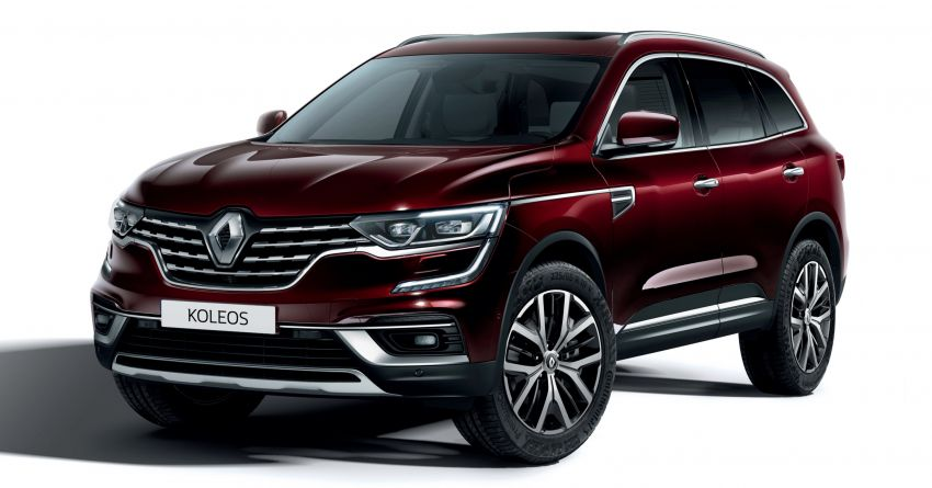 2020 Renault Koleos facelift – new look and engines Image #969421