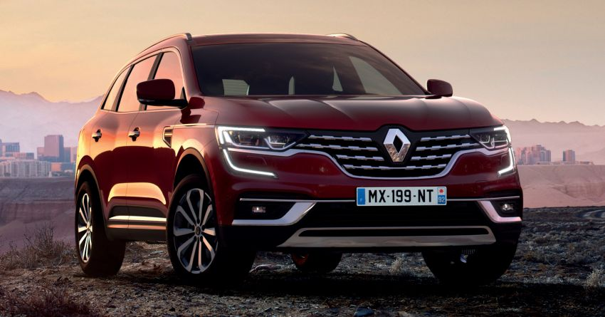 2020 Renault Koleos facelift – new look and engines Image #969430