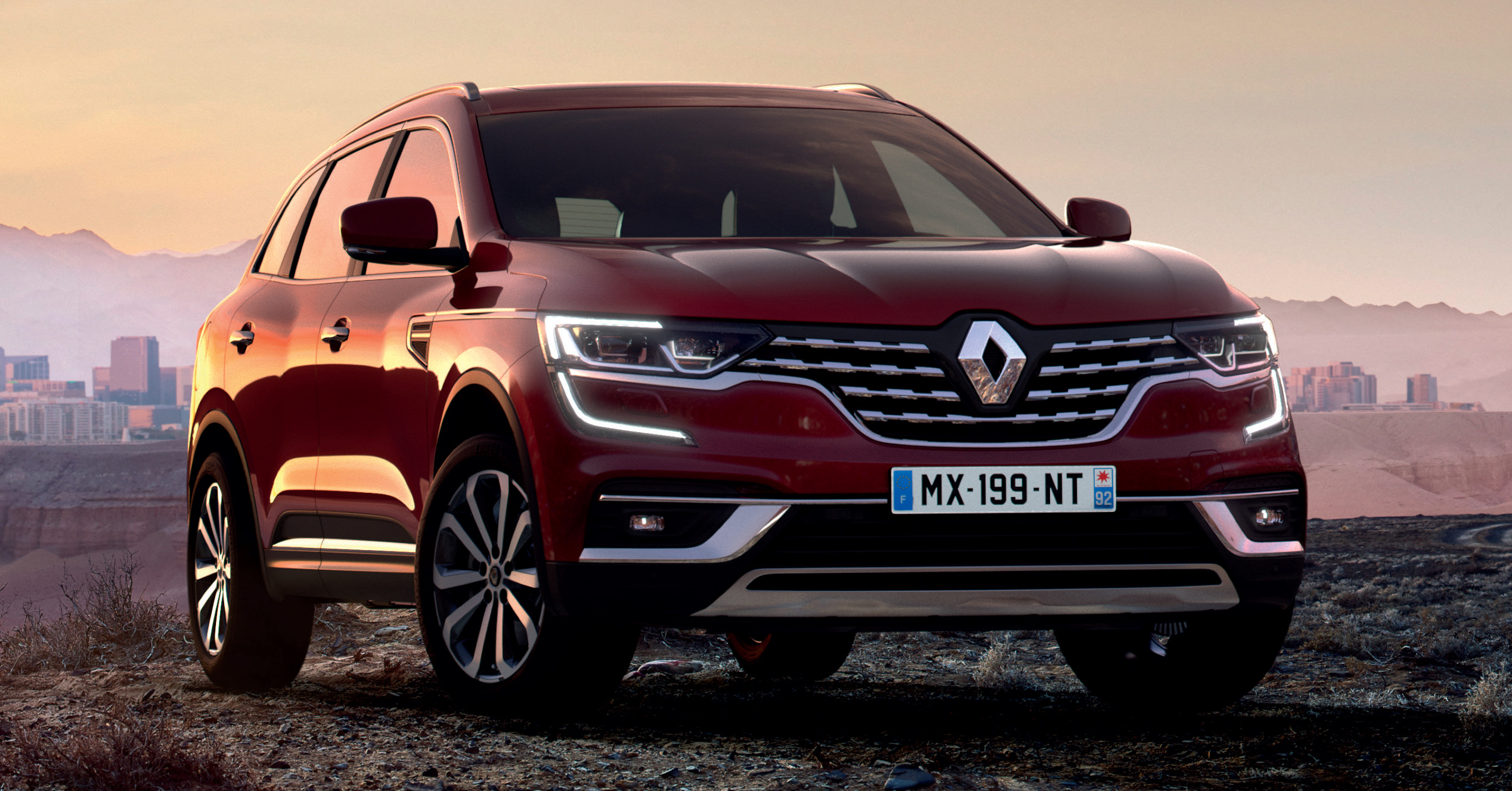 2020 Renault Koleos facelift - new look and engines