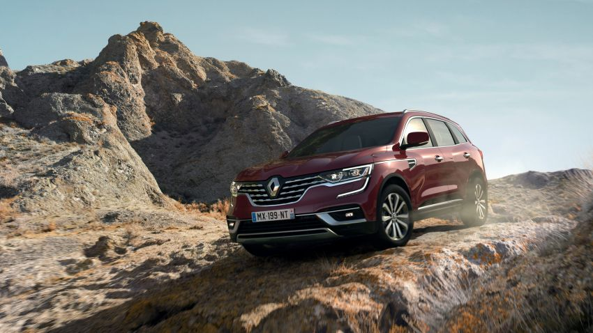 2020 Renault Koleos facelift – new look and engines Image #969431