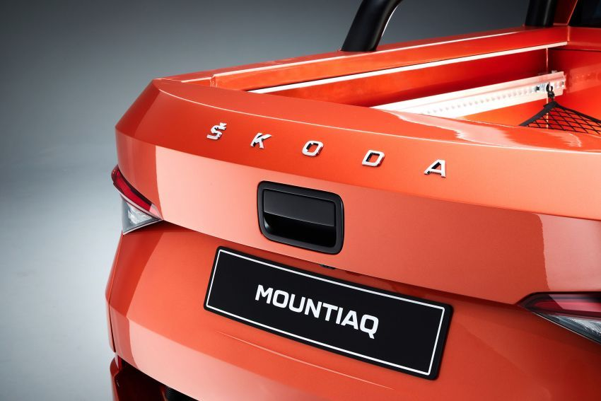 Skoda Mountiaq trak pikap konsep, asas dari Kodiaq Image #968459