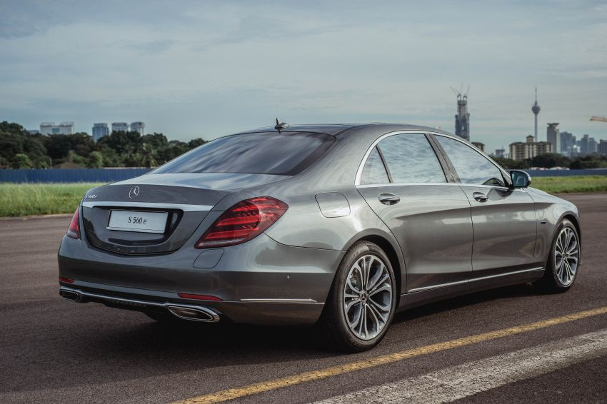 W222 Mercedes-Benz S560e PHEV in Malaysia – 469 hp and 700 Nm, 50 km all-electric range, RM658,888 Image #971409