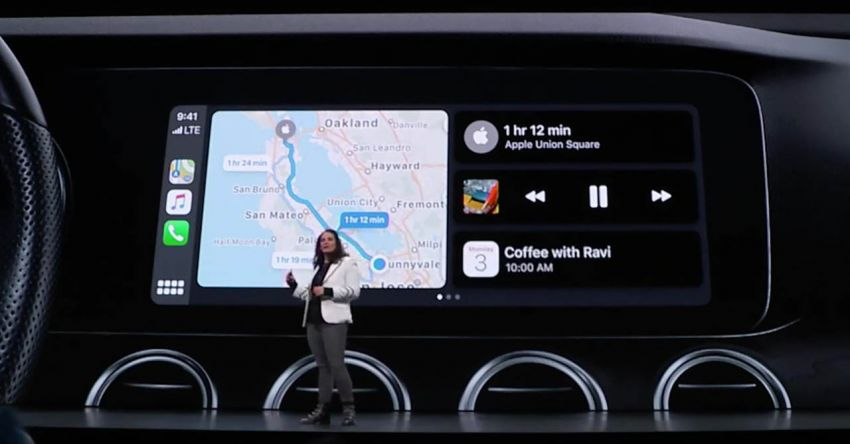 Apple CarPlay gets a design refresh at WWDC 2019 Image #968542