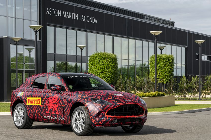 Aston Martin DBX SUV – pre-production phase begins Image #971053