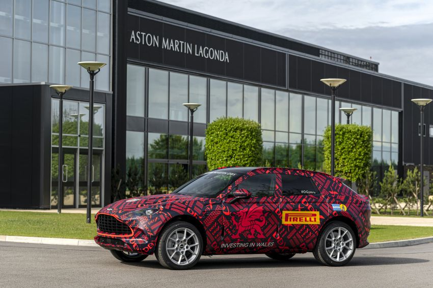 Aston Martin DBX SUV – pre-production phase begins Image #971054
