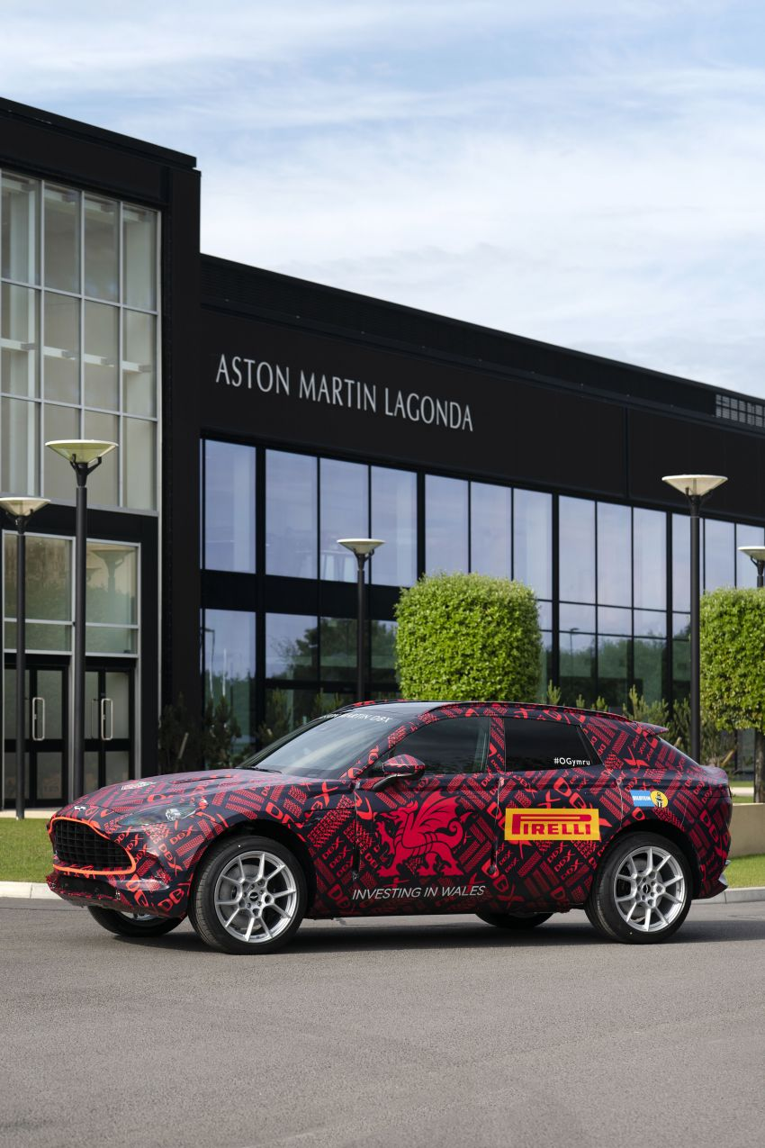 Aston Martin DBX SUV – pre-production phase begins Image #971055