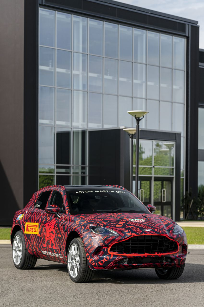 Aston Martin DBX SUV – pre-production phase begins Image #971056