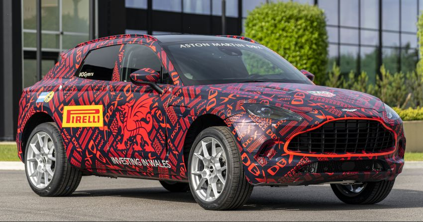 Aston Martin DBX SUV – pre-production phase begins Image #971057