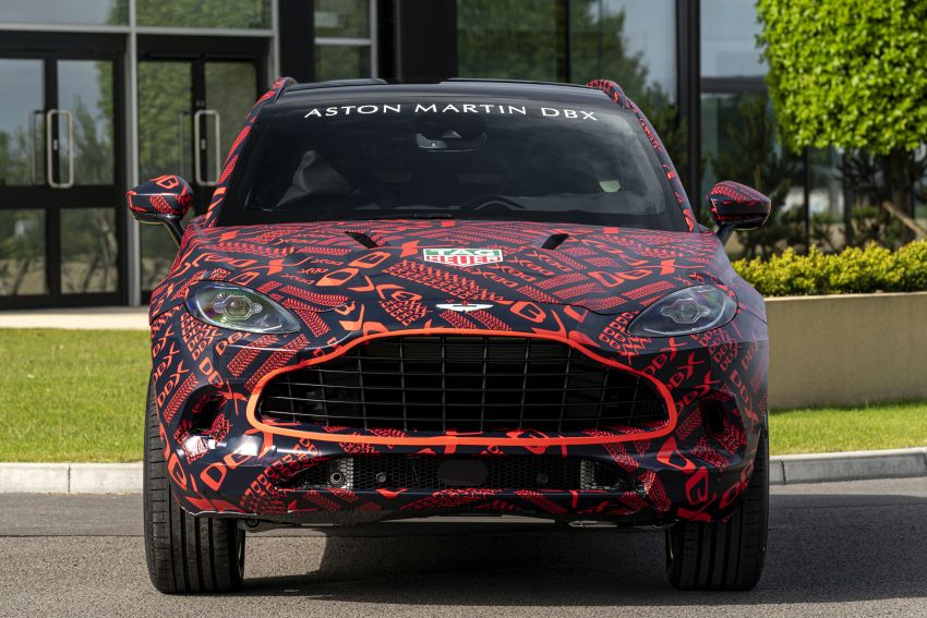 Aston Martin DBX SUV – pre-production phase begins Image #971058