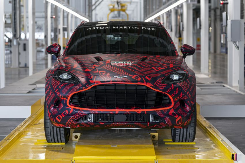 Aston Martin DBX SUV – pre-production phase begins Image #971060