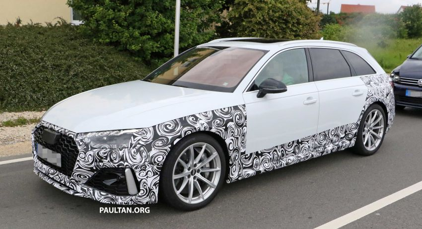 SPIED: Audi RS4 facelift to gain revised infotainment? Image #968259