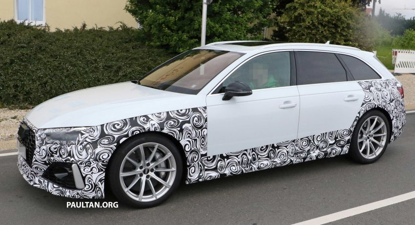 SPIED: Audi RS4 facelift to gain revised infotainment? Image #968260