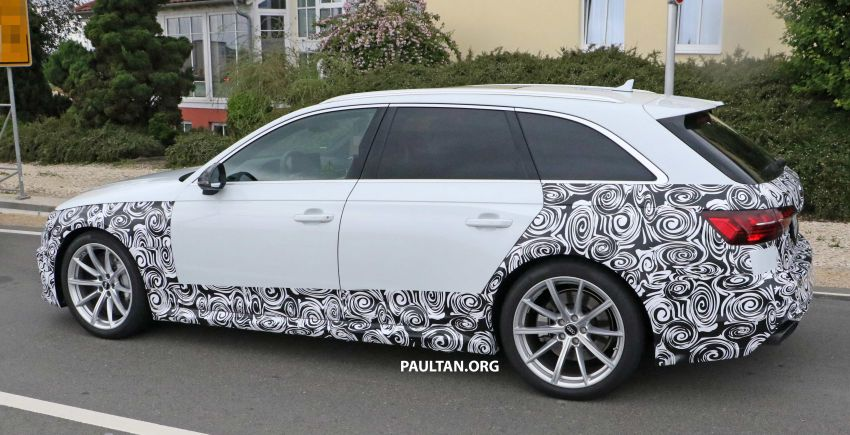 SPIED: Audi RS4 facelift to gain revised infotainment? Image #968261