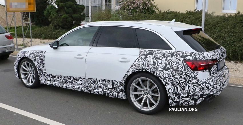 SPIED: Audi RS4 facelift to gain revised infotainment? Image #968262