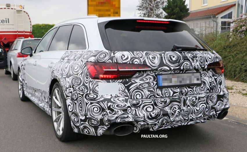SPIED: Audi RS4 facelift to gain revised infotainment? Image #968263