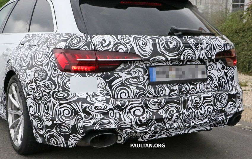 SPIED: Audi RS4 facelift to gain revised infotainment? Image #968264