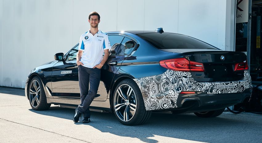 BMW Power BEV –  sub three-second, 710 hp all-electric experimental unit hidden under a 5 Series shell Image #976683