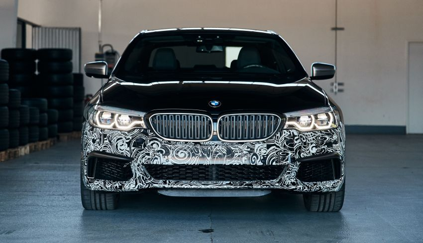 BMW Power BEV –  sub three-second, 710 hp all-electric experimental unit hidden under a 5 Series shell Image #976685