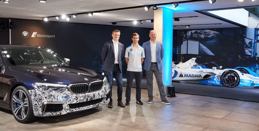 BMW Power BEV –  sub three-second, 710 hp all-electric experimental unit hidden under a 5 Series shell Image #976690