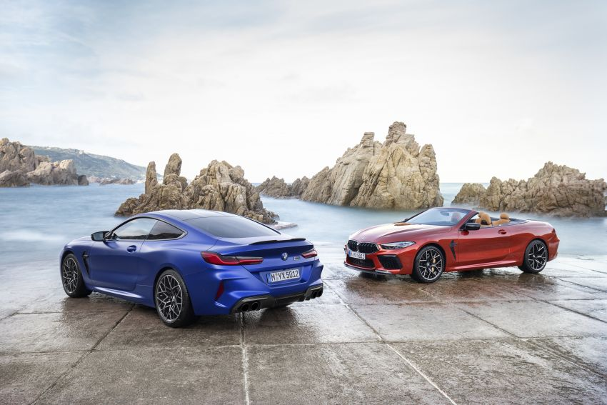 F92 BMW M8 Coupé, F91 Convertible debut – 625 hp! Image #969018