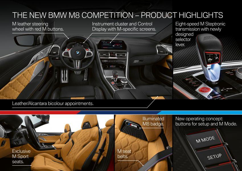 F92 BMW M8 Coupé, F91 Convertible debut – 625 hp! Image #969020
