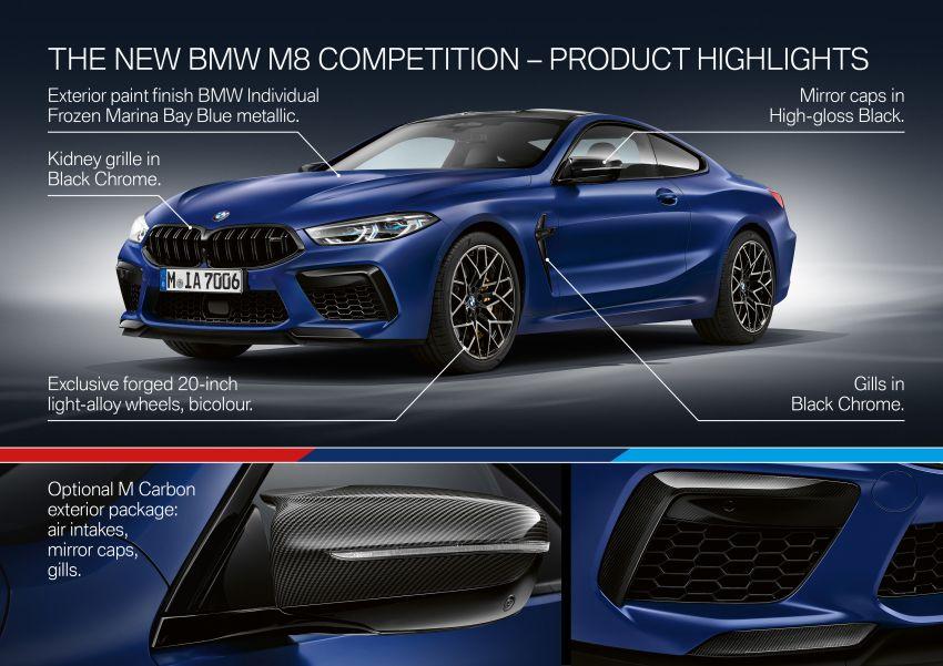 F92 BMW M8 Coupé, F91 Convertible debut – 625 hp! Image #969021