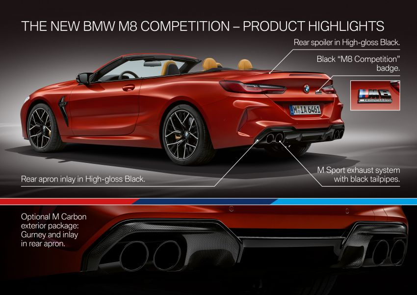 F92 BMW M8 Coupé, F91 Convertible debut – 625 hp! Image #969022