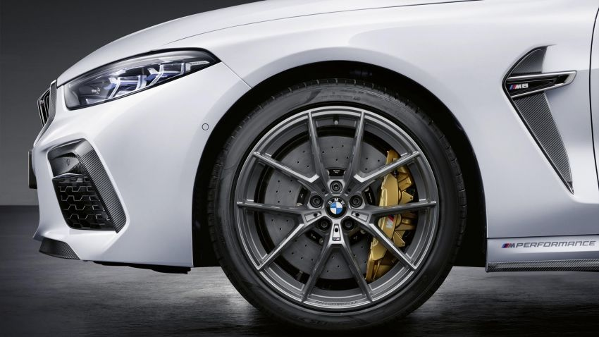 F92 BMW M8 gets M Performance parts, lots of carbon Image #969394