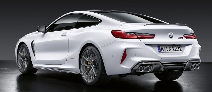 F92 BMW M8 gets M Performance parts, lots of carbon Image #969395