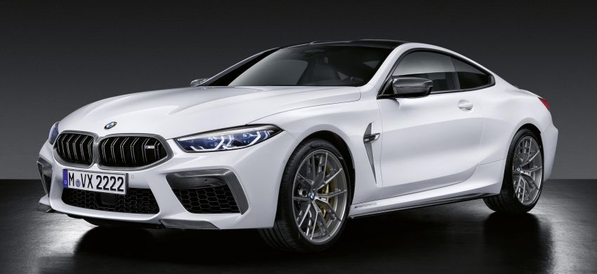 F92 BMW M8 gets M Performance parts, lots of carbon Image #969398