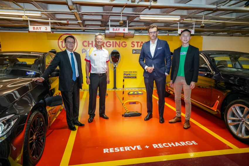 BMW partners Shell, ParkEasy for Reserve+Shell Recharge bays – promo code for first 2,000 users Image #971090