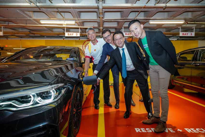 BMW partners Shell, ParkEasy for Reserve+Shell Recharge bays – promo code for first 2,000 users Image #971091