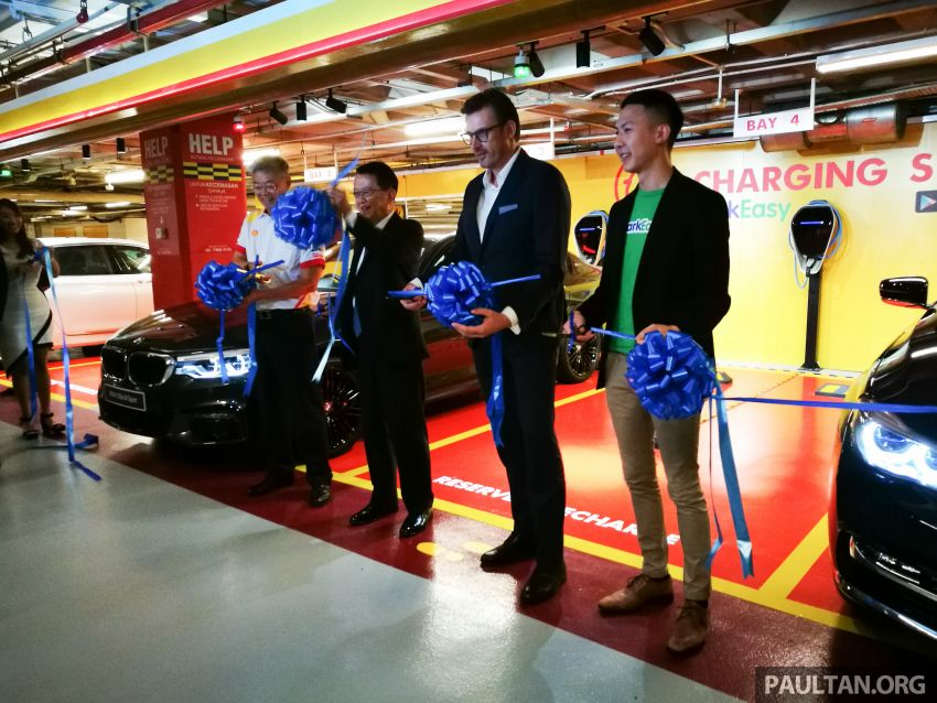 BMW partners Shell, ParkEasy for Reserve+Shell Recharge bays – promo code for first 2,000 users Image #971085