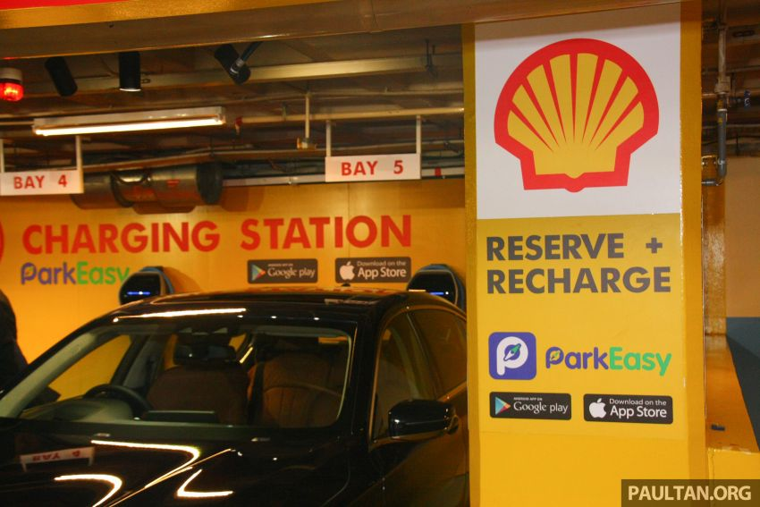 BMW partners Shell, ParkEasy for Reserve+Shell Recharge bays – promo code for first 2,000 users Image #971089