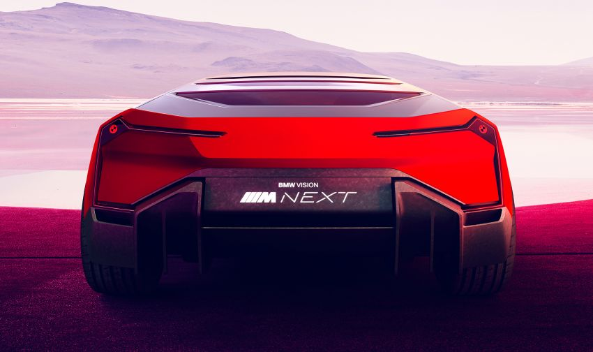 BMW Vision M Next previews M1 supercar's successor – a dedicated 600 hp, carbon-bodied plug-in hybrid Image #976633