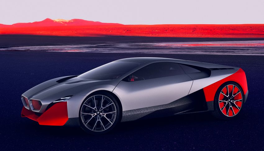 BMW Vision M Next previews M1 supercar's successor – a dedicated 600 hp, carbon-bodied plug-in hybrid Image #976643